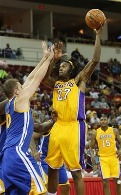 Jordan Hill has made a big splash so far in training camp. (AP Photo/Gary Kazanjian)