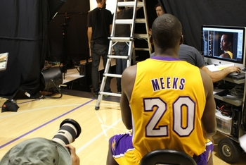Unless he can beat out Ebanks, Jodie Meeks will be spending a lot of time as a spectator.