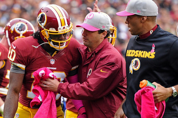 Robert Griffin III suffers mild concussion in Week 5 action.