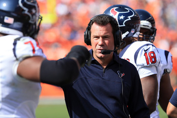 Gary Kubiak has done a great job with the Houston Texans.