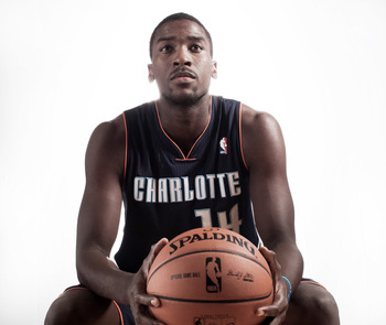 TARRYTOWN, NY - AUGUST 21:  Michael Kidd-Gilchrist #14 of the Charlotte Bobcats poses for a portrait during the 2012 NBA Rookie Photo Shoot at the MSG Training Center on August 21, 2012 in Tarrytown, New York. NOTE TO USER: User expressly acknowledges and