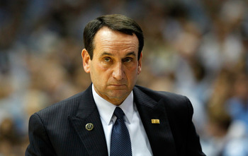 Coach K will not let the Blue Devils lose in the Round of 64 again.