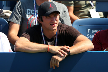 Ovechkin enjoying the US Open.
