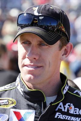 Carl Edwards has had little to smile about in 2012.