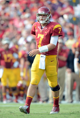 Matt Barkley has some work to do this weekend if he hopes to keep USC's national title hopes alive