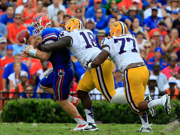 The LSU defense has been the sole-reason the Tigers are still in the Top-10