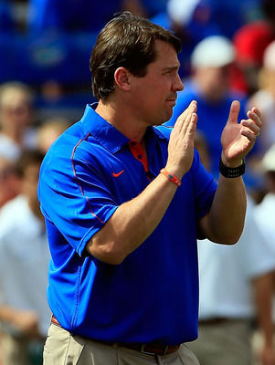 Head coach Will Muschamp and his Gators might see their cinderella run come to an end sooner rather than later