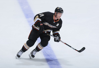 Saku Koivu of the Anaheim Ducks.