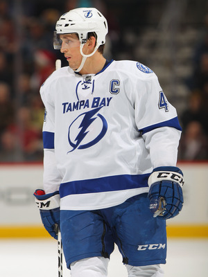 Tampa Bay Lightning captain Vincent Lecavalier.