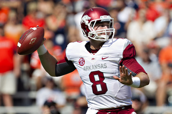 Geno Smith is my first choice, but Tyler Wilson is more realistic as Buffalo won't have the first pick of the draft.