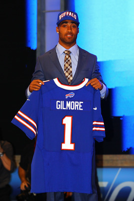 Gilmore was the Bills first pick in 2012, who do you think they should take in round one of the 2013 NFL Draft?