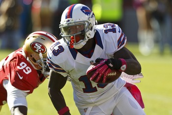 Stevie Johnson would benefit greatly from a new quarterback and regime.