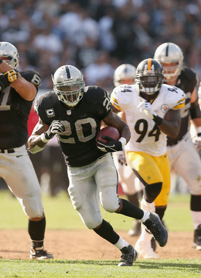 Darren McFadden will look to get the Raiders running game going in week 6.