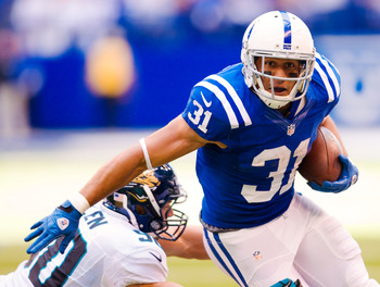 Donald Brown is searching for his first 100+ yard performance of the 2012 season.