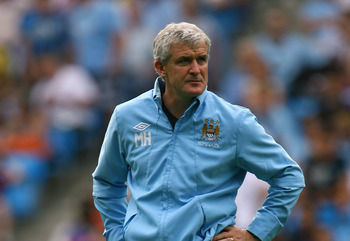 Hughes at Manchester City