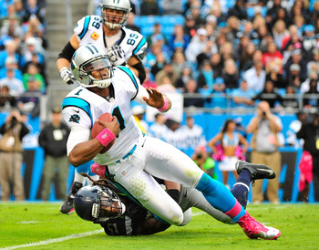 Cam Newton couldn't get anything going on the ground or through the air