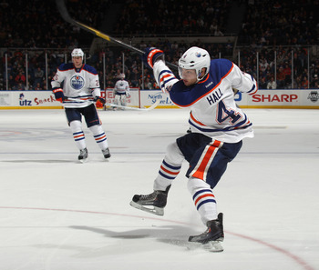 Hall is young, fast and plays with a ferocity that should remind Oilers fans of a young Mark Messier.
