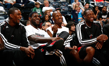 With the supporting cast that he has around him, LeBron should be all smiles with a lot of assists too.
