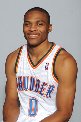 Russell Westbrook at OKC Thunder Media Day