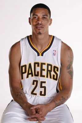 Gerald Green at Indiana Pacers Media Day