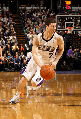 Sacramento Kings guard Jimmer Fredette