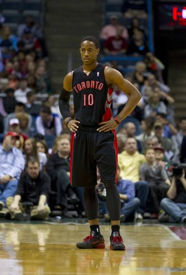 Raptors guard DeMarDerozan