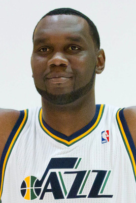 Al Jefferson of the Utah Jazz