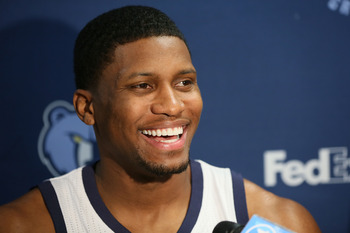 Grizzlies forward Rudy Gay