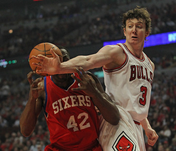 The Rockets have to hope Asik's size will block out any and all opponents.