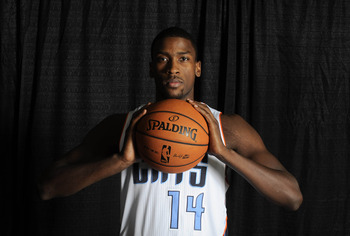 Rookie Michael Kidd-Gilchrist at Charlotte Bobcats Media Day