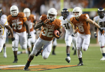 Texas needs to run the ball effectively this weekend.