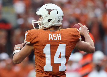 If David Ash can continue to avoid turnovers, the Longhorns will be in great shape to beat the Sooners.