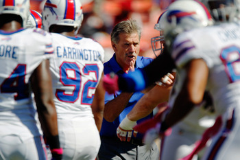 The Bills are coming off losses of 52-28 and 45-3.  But that's actually a great reason to take them in the third game.