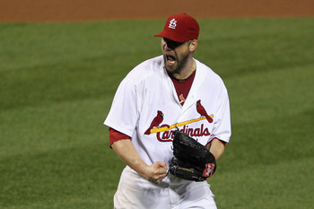 Chris Carpenter is back where he belongs—in the postseason.