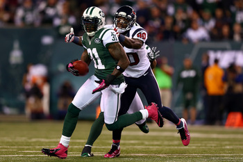 Cromartie played his best game as a Jet