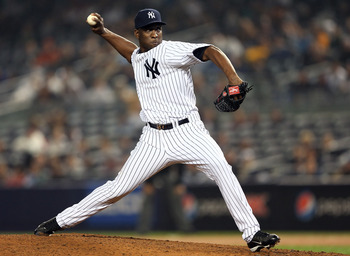 Rafael Soriano did his best Mariano Rivera impression as the Yankees closer in 2011.