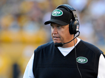 The Jets' season appears to be headed down the drain, and Rex may be on his way out.