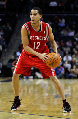 CHARLOTTE, NC - JANUARY 10:  Kevin Martin #12 of the Houston Rockets against the Charlotte Bobcats during their game at Time Warner Cable Arena on January 10, 2012 in Charlotte, North Carolina.   NOTE TO USER: User expressly acknowledges and agrees that,