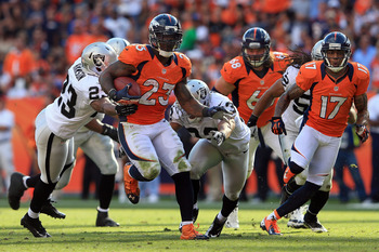 Willis McGahee should expect to play even better in the latter half of the season.