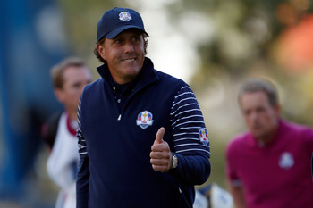 Phil Mickelson is one of golf's great ambassadors.