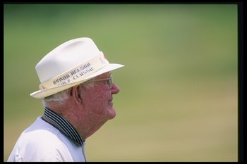 One of the kindest men ever in golf, Byron Nelson.