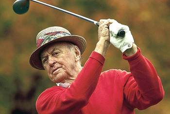 Sam Snead finished third in the 1974 PGA Championship at age 62.