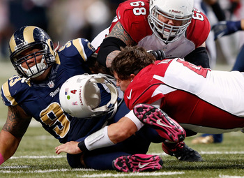Keven Kolb wants no part of the Rams defense after Week 5.