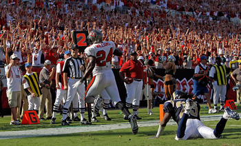 Cadillac Williams scored the game-winning TD last time the Bucs and Rams squared off.