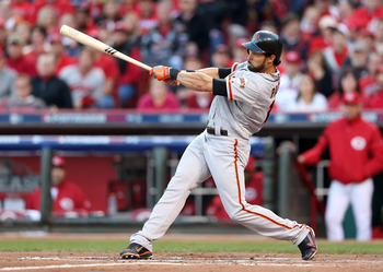Angel Pagan had a big sacrifice fly in Game 3.