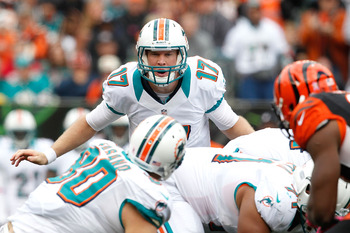 Ryan Tannehill has the Miami Dolphins offense under control.