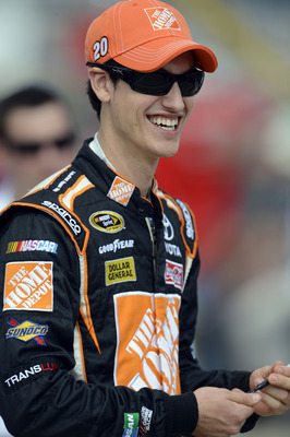 There'll be a new team and new uniform for Logano in 2013.