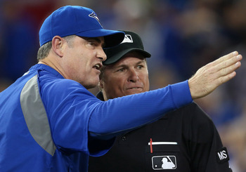 Blue Jays manager John Farrell, a former Red Sox coach, is high on Boston's wish list.