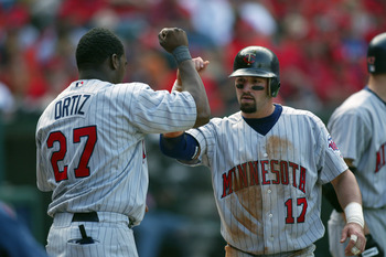 Remember when David Ortiz played for the Twins? 2002...
