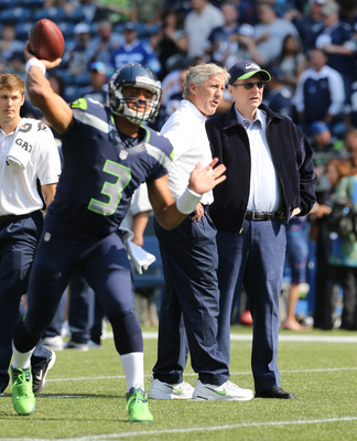 Carroll immediately knew what he had in Russell Wilson.